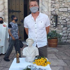 Bendición de busto del Santo Cura Brochero