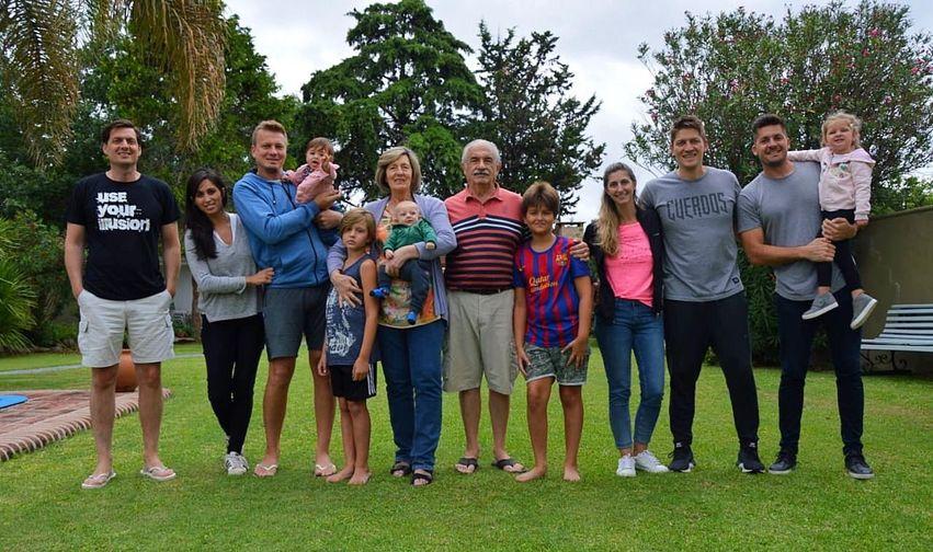 Reunión Familiar Todos juntos