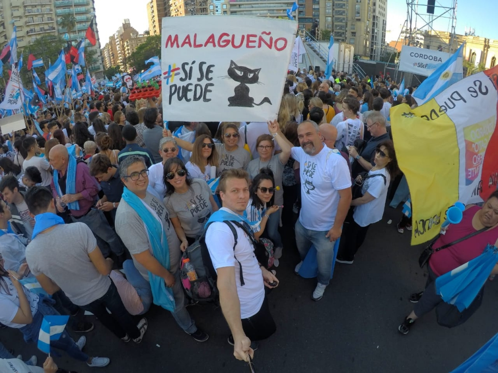 Marcha del #SiSePuede en Córdoba