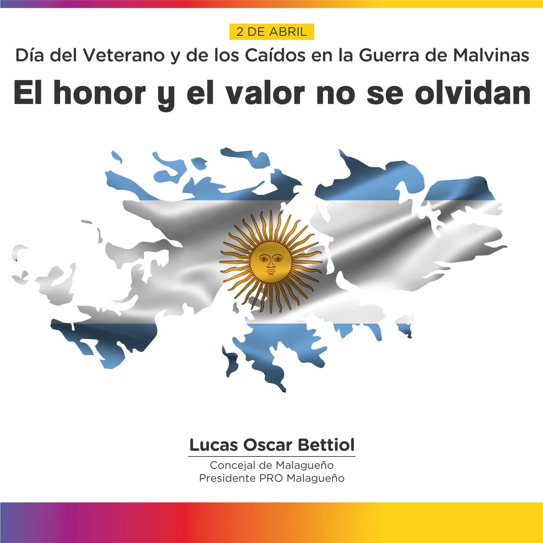 2 de Abril - Día del Veterano y de los Caídos en la Guerra de Malvinas