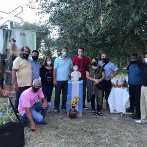 Inauguración Busto del Santo Cura Brochero
