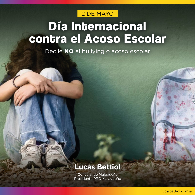 2 de Mayo - Día Internacional contra el Acoso Escolar