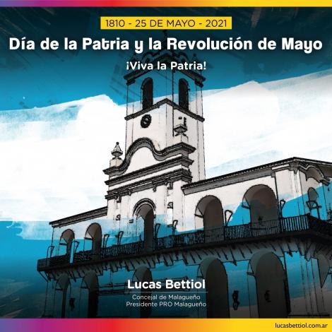 25 de Mayo - Día de la Patria y la Revolución de Mayo
