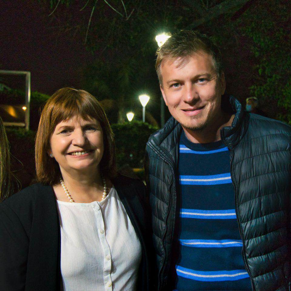 Gracias Patricia Bullrich por tu apoyo a Juntos por el Cambio Córdoba